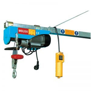 MB200 Mini Electric Palan, palanka elektrikoa